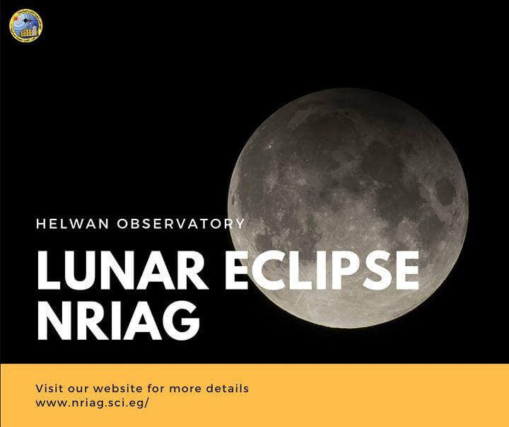 Observing of the Penumbral Lunar Eclipse from Helwan Observatory, NRIAG, 10 January 2020