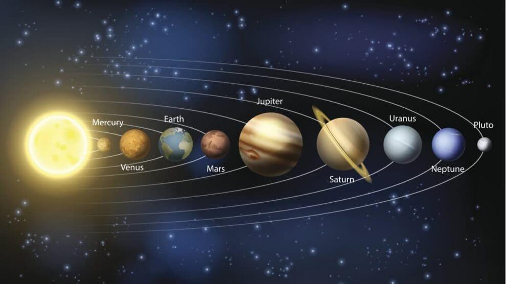 غرائب وعجائب المجموعة الشمسية